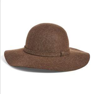 Phase 3 Floppy Hat Felt Wool Brown Wide Brim